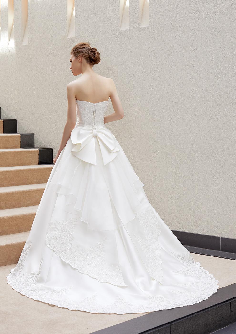 リボンの人気のウェディングドレス